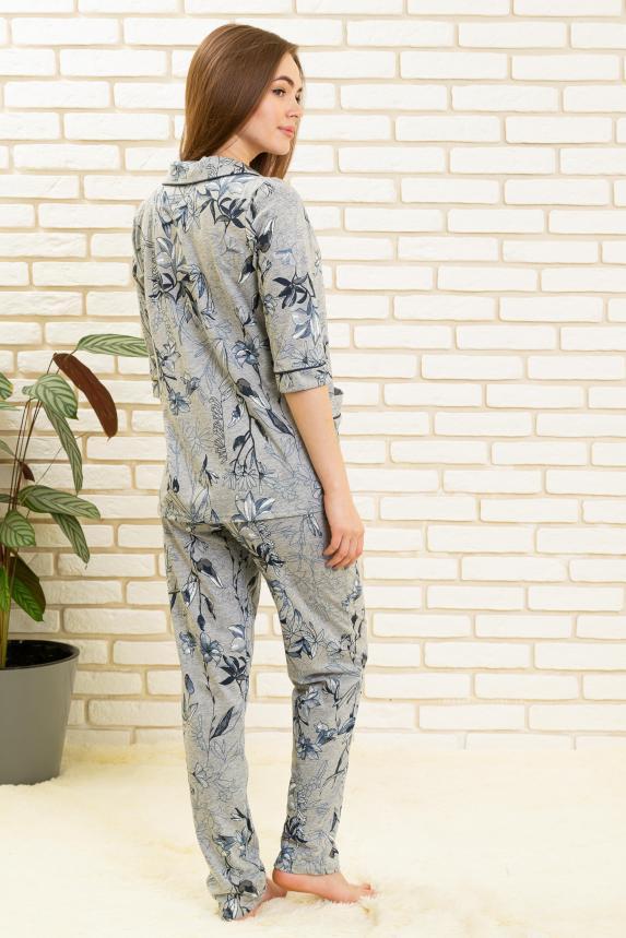 Пижама Таинственные цветы Арт. 6478