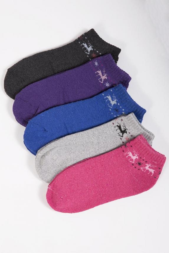 Носки женские махровые укороченные Арт. 6387