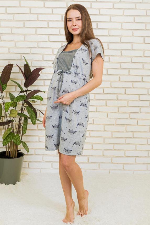 Платье Домашние Зайчата Б Арт. 6318