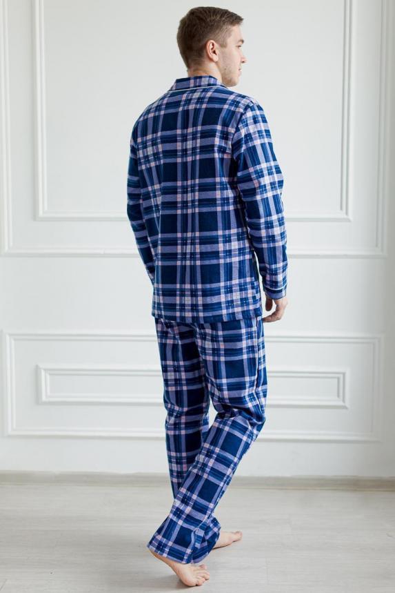 Пижама Фланель мужская Г Арт. 6266