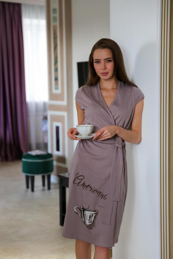 Халат Кофе с молоком А Арт. 5260
