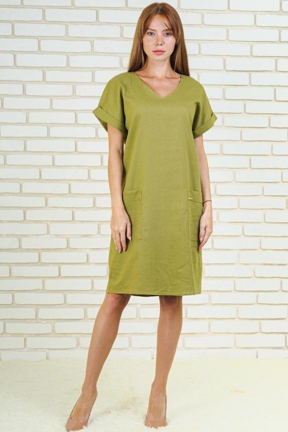 Платье Зелена Арт. 6173
