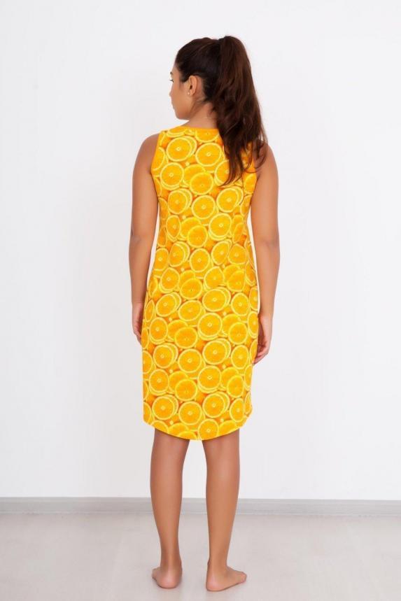 Платье домашнее Апельсинка Арт. 2524