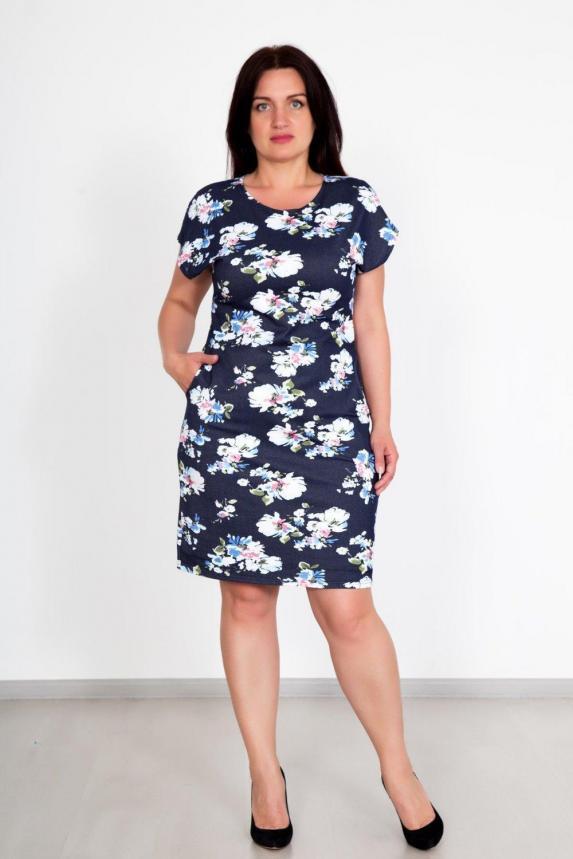 Платье Флок Арт. 3924