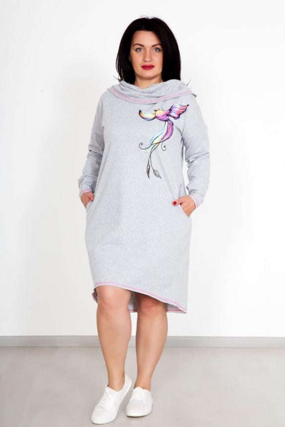 Платье-Туника Жар-птица Арт. 4123