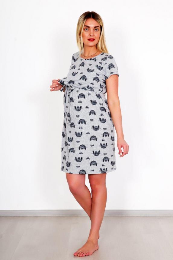 Платье домашнее Зайчата Арт. 5189