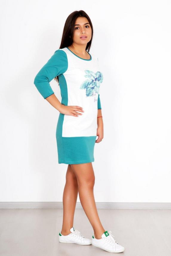 Платье домашнее Мятное утро Арт. 5344