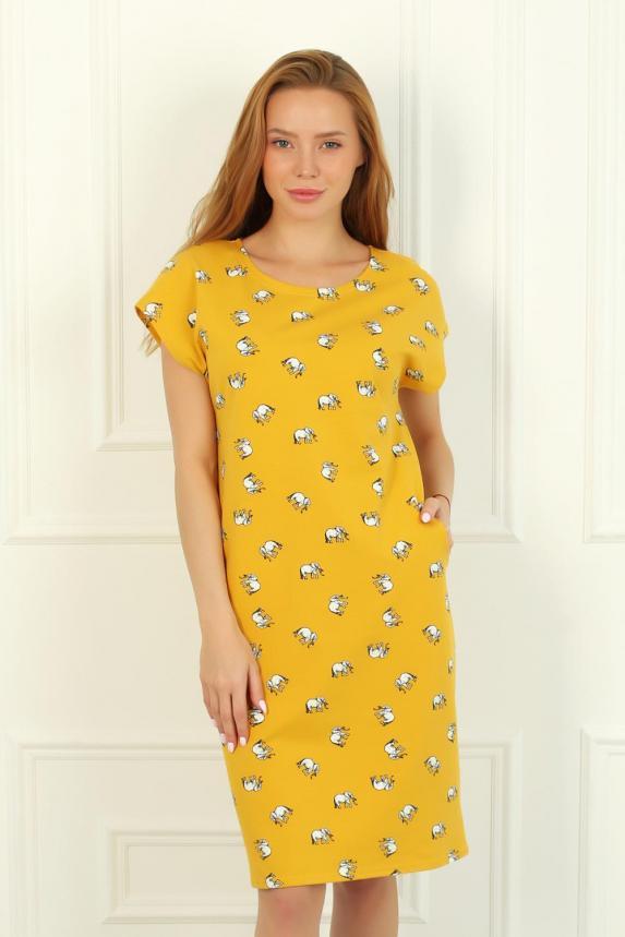 Платье домашнее Элефант 11Ж Арт. 5948