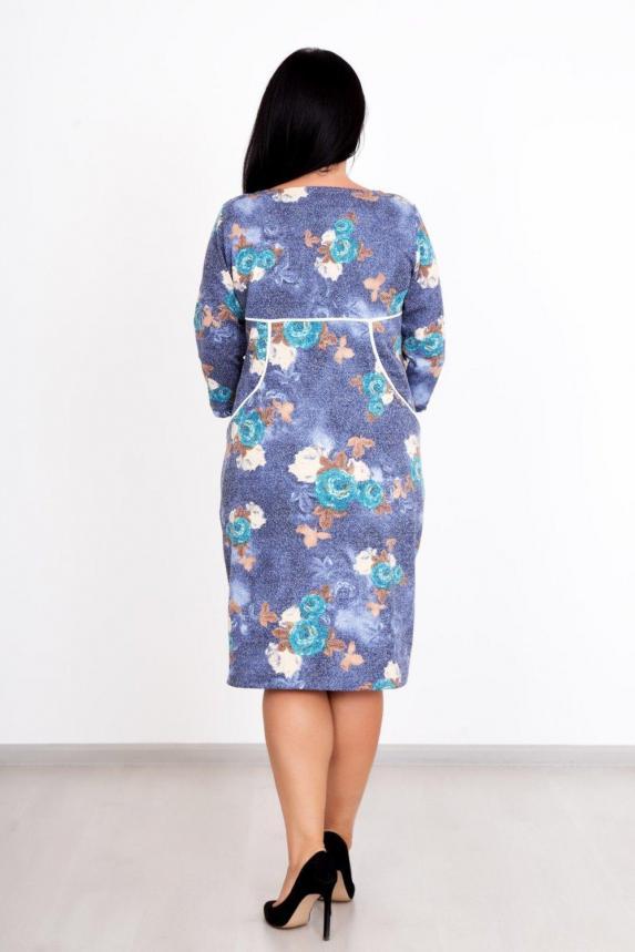 Платье Маринель цветы Арт. 849