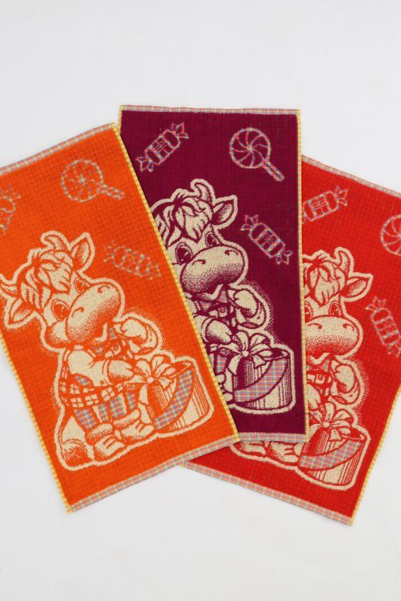 Полотенце Бычок с конфетами Арт. 6800