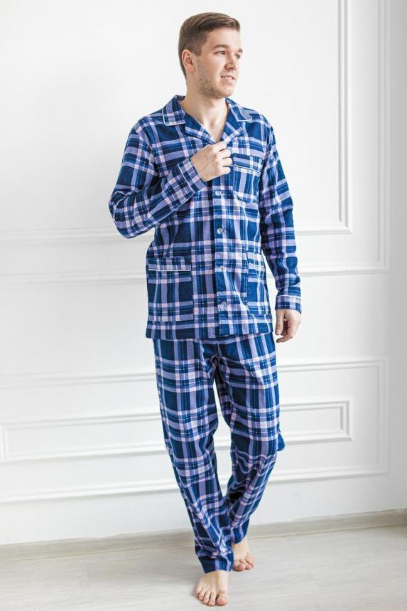 Пижама Фланель мужская 2 Арт. 5860